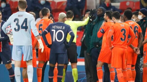 PSG x Istanbul Champions League racismo