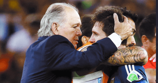 Sabella Argentina Messi Olé