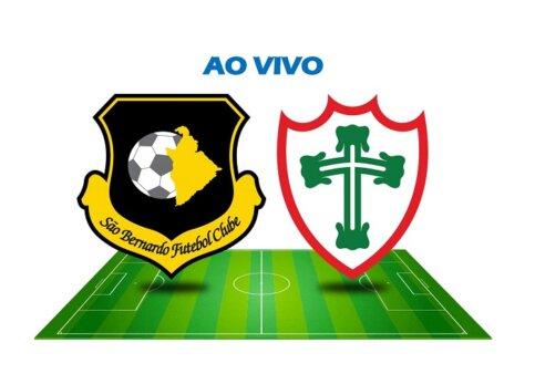 Assista São Bernardo FC x Portuguesa AO VIVO pelas semifinais da Copa Paulista (Reprodução/ Arte: Adriano Oliveira)