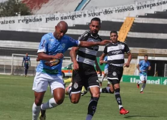 O Marília superou o XV de Piracicaba pelo placar agregado de 3 x 2 e está nas finais da Copa Paulista de 2020 (Foto: Matheus Dahsan/ Marília AC)