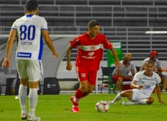 No jogo do primeiro turno da Série B, disputado em Maceió, o CRB superou o Avaí pelo placar de 3 x 1 (Foto: Gustavo Henrique/ CRB)