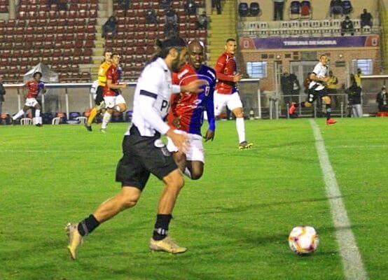 No jogo do primeiro turno, disputado em Curitiba, o Paraná venceu a Ponte Preta pelo placar de 2 x 1 (Foto: Rui Santos/ Paraná Clube)