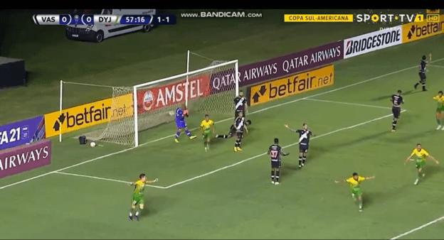 Vasco X Defensa Y Justicia Assista Ao Gol Do Jogo Da Copa