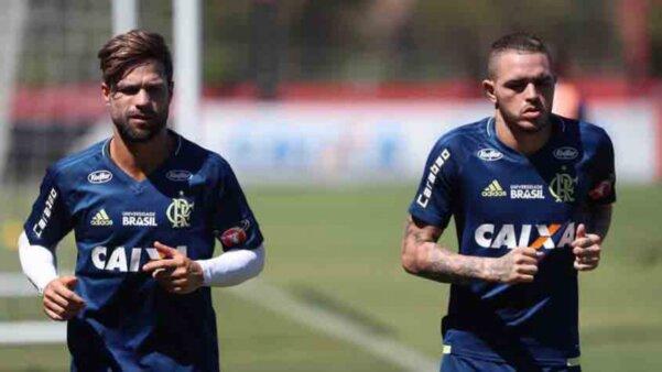 Thiago Santos em ação pelo Flamengo
