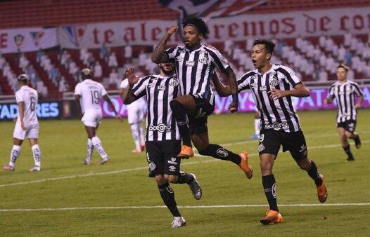 Libertadores: relembre a trajetória do Santos na campanha até a final (Foto: Staff images/ Conmebol/ Reprodução/ Flickr oficial do Santos FC)
