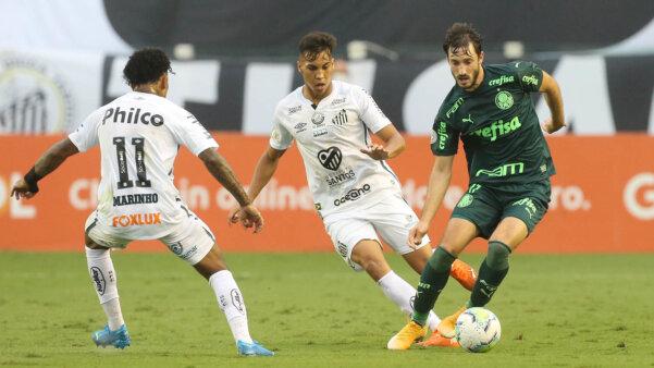 Palmeiras x Santos - Final da Libertadores