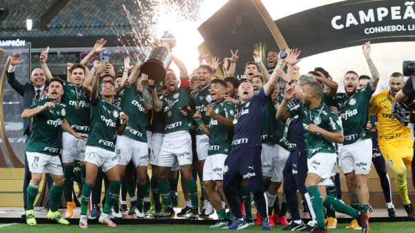 Palmeiras conquistou o bicampeonato na Libertadores