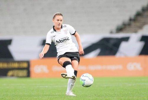 Andressinha renovação contrato Corinthians futebol feminino