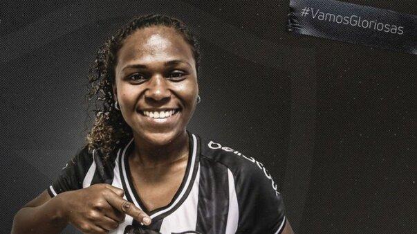 Cris é o novo reforço do time feminino do Botafogo
