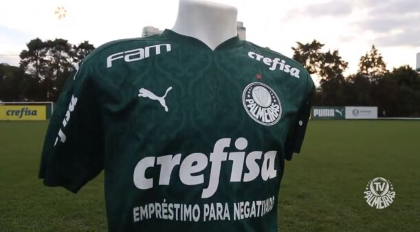 Palmeiras, Crefisa patrocínio máster