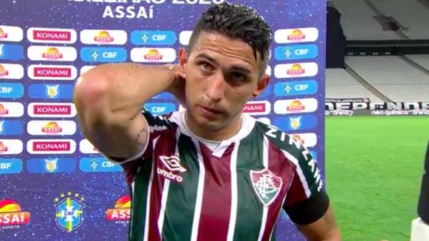 "Após goleada, Danilo, do Fluminense desabafa: ""Temos de ter vergonha na cara"""