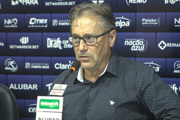 Carlos Kila veio a público após a goleada sofrida para o Vila Nova - imagem: Samara Miranda/Clube do Remo