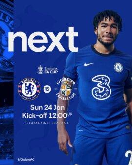 Chelsea x Luton Town guia