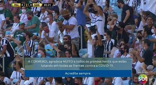 Palmeiras x Santos Conmebol
