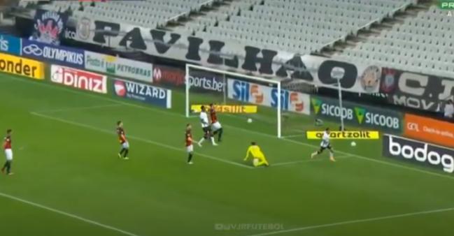 Corinthians x Sport gols
