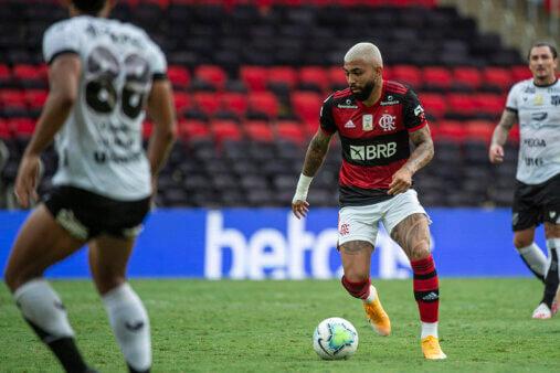 Flamengo perdeu para o Ceará.
