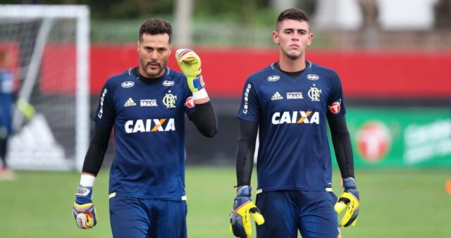Yago Darub em ação pelo Flamengo
