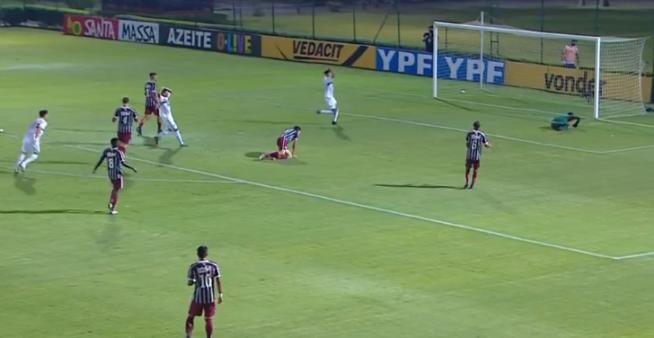 Fluminense x São Paulo ao vivo final Sub-17