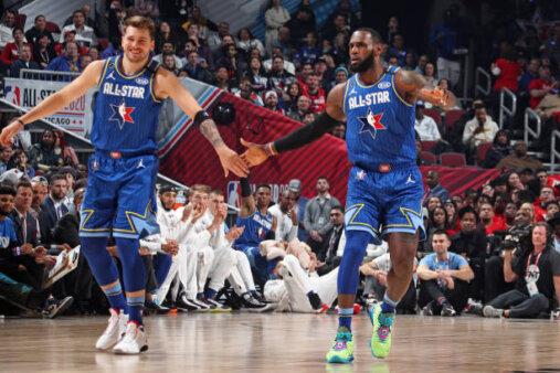 Lebron James Luka doncic favoritos MVP