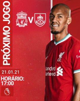 Liverpool x Burnley guia