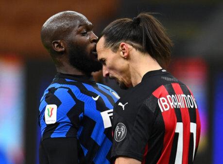 Discussão Lukaku Ibrahimovic Inter de Milão x Milan