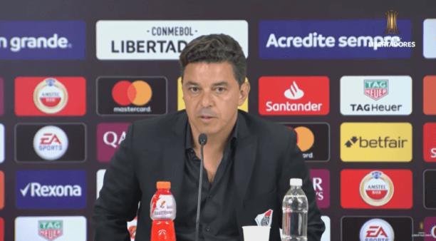 Gallardo analisou River x Palmeiras.