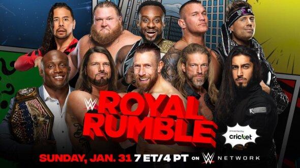 2021 Men's Royal Rumble Match