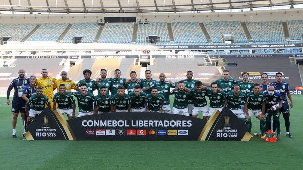 Palmeiras faturou a Libertadores.