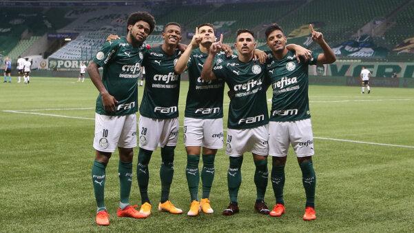 Palmeiras venceu no Brasileirão.