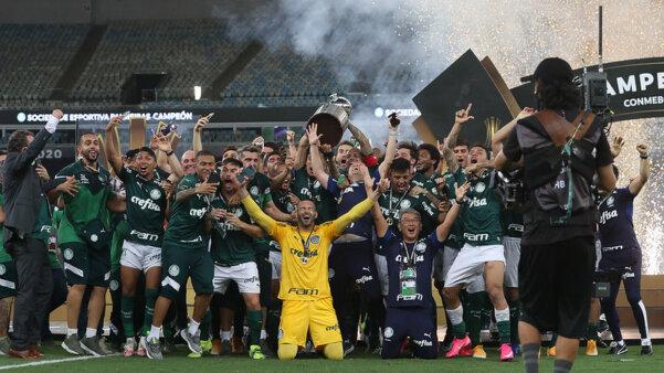 Palmeiras venceu a Libertadores.