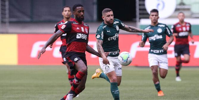 Flamengo x Palmeiras vão duelar em janeiro.