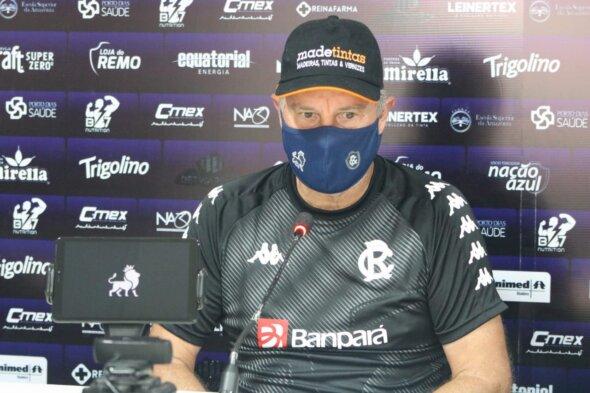 Paulo Bonamigo está em negociações para ficar em 2021 - imagem: Samara Miranda/Clube do Remo
