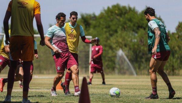 Provável escalação Fluminense Goiás Brasileirão