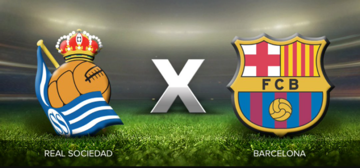 Real Sociedad x Barcelona ao vivo