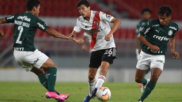 """Rádio argentina acredita em virada do River: """"Palmeiras não é o Barcelona"""""""