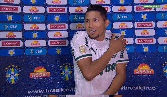 Rony, no Palmeiras