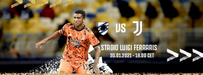 Sampdoria x Juventus guia