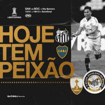 Santos x Boca Juniors