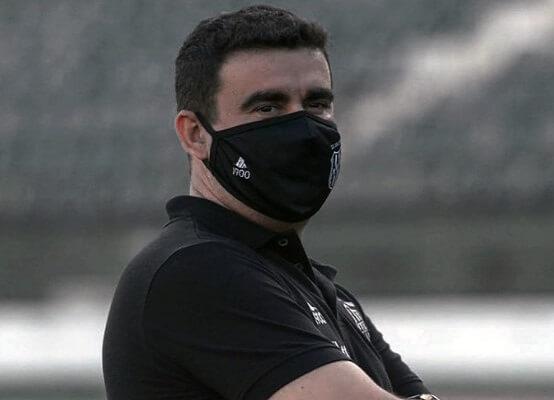 Fábio Moreno, treinador da Ponte Preta (Foto: Álvaro Jr/ Reprodução/ Site oficial da AA Ponte Preta/ PontePress)