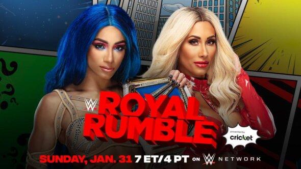 Sasha Banks vs. Carmella