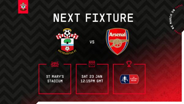 Southampton x Arsenal guia