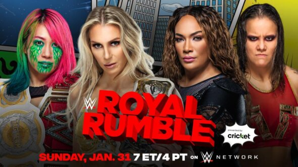 Charlotte Flair & Asuka vs. Shayna Baszler & Nia Jax