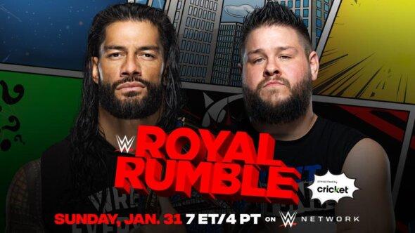 Roman Reigns vs. Kevin Owens