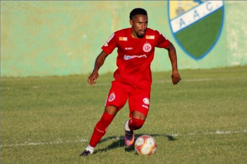 lateral-direito Neilson, do América-RN (Foto: Canindé Pereira/ América FC)
