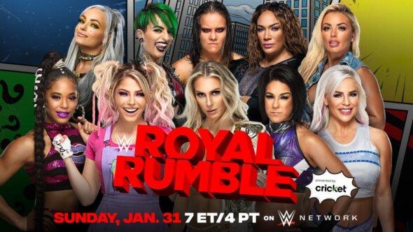2021 Women's Royal Rumble Match