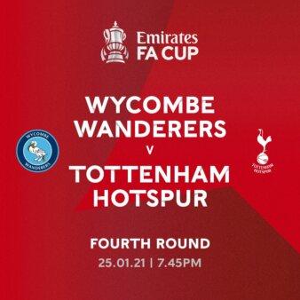 Wycombe x Tottenham guia
