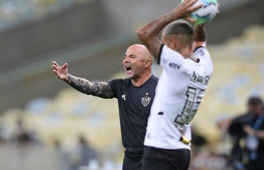 O técnico argentino Jorge Sampaoli (Foto: Pedro Souza/ Reprodução/ Flickr oficial do Atlético-MG)