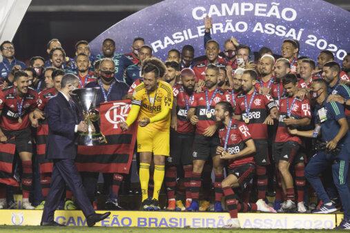 Flamengo foi o último campeão do Brasileirão