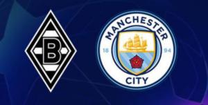 Borussia MönchengladbachxManchester City ao vivo