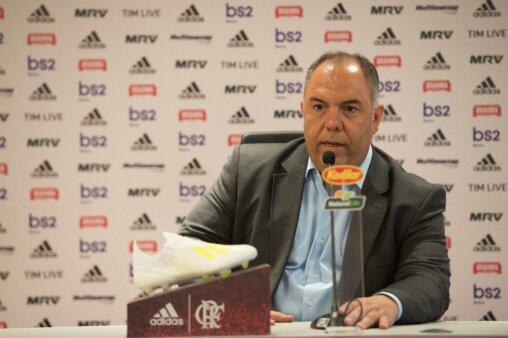 Marcos Braz falou sobre o Flamengo.